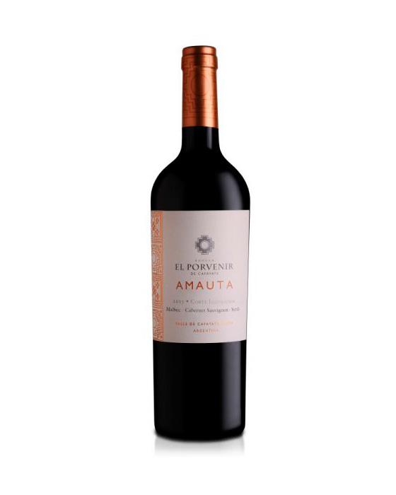 Amauta Bodega El Porvenir de los Andes (Malbec, Cabernet Sauvignon y Syrah.)