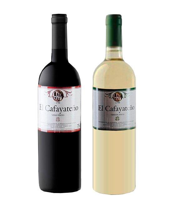 El Cafayateño Bodega Animaná (Blanco Torrontés y Tinto Genérico)